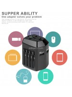 Travel Adapter With Usb SL-193 Charger USB with Compass