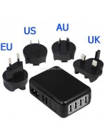 Travel Charger 2.1A 4 USB Port Universal Charger