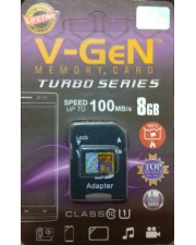 V-Gen Micro SD Class 10 8GB With Adapter