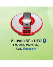 VDR V-3900BT-1 UFO Bluetooth Speaker with FM Radio