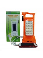VDR V-977S Senter Lampu Emergency Powerbank Tenaga Surya