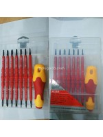 Obeng Listrik - Obeng Elektrik - Electric Screwdriver Set 8 Pcs