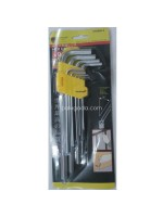 Key Set Kunci L Panjang Set 9pcs Biasa