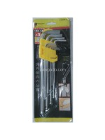 Key Set Kunci L Panjang Set 9pcs Bulat