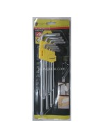 Key Set Kunci L Panjang Set 9pcs Bintang