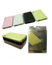 Viverr V03 Powerbank 12800mAh 2 Output