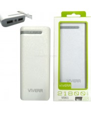 Viverr V061 Powerbank 21800mAh 2 Output