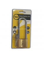 Yale V140-50LS90 Long Brass Padlock 140 Gembok Panjang 50mm
