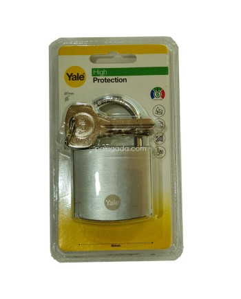 Yale Y120B-50-127-1 High Protection Padlock Gembok 50mm Silver
