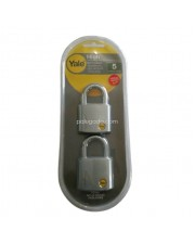 Yale Y120-50-127-2 High Solid Brass Padlock 50mm Gembok 2 Pcs