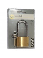 Yale YE1-50-166-1 Gembok Panjang 50mm Indoor Brass Long Shackle Padlock