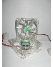 Fan Casing 12 Cm Transparan Lampu