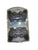 Gamepad Double Getar Hitam