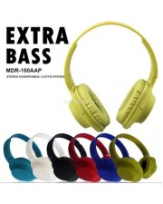 Headset MDR-100AAP Stereo Headphone Mic Extra Bass