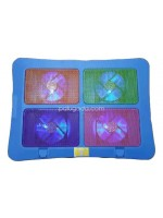 Cooling Pad 4 Fan Warna