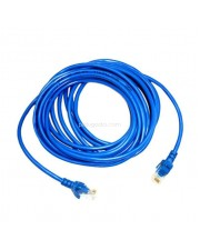 Patch Cord UTP Cat 5e 10 Meter Biru