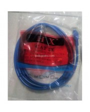 Patch Cord UTP Cat 5e - 1.5 Meter Warna: Biru - MURAH -