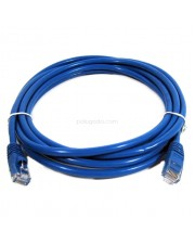 Patch Cord UTP Cat 5e - 3 Meter Warna: Biru - MURAH -