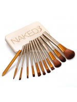 Pro Brush Naked 3 - Naked3 Kuas Isi 12 Pcs - Make Up Brush
