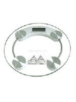 Timbangan Badan Kaca Digital Transparan - 28CM Body Scale