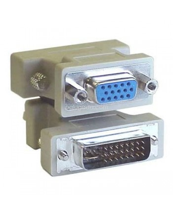 Converter DVI 24 plus 5 Male to VGA Female