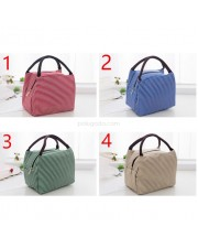 Cooler Bag Stripe - Lunch Bag - Tas Bekal Garis Garis