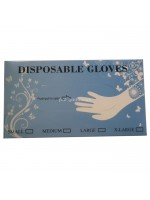 Sarung Tangan Plastik -+ 500 Pcs Kotak Disposable Plastic Gloves