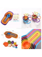 Sendok Takar 6 in 1 Ukur Kue Air Bumbu Measuring Spoon