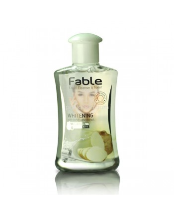 Fable Facial Cleanser Toner Bengkuang Whitening