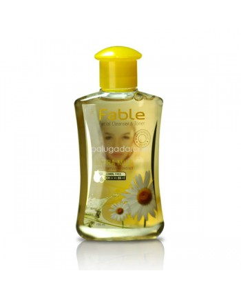 Fable Facial Cleanser Toner Chamomile Extra Mild
