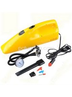 2 in 1 The Inflator With Vacuum Cleaner : DC 12V 250 PSI Air Compressor