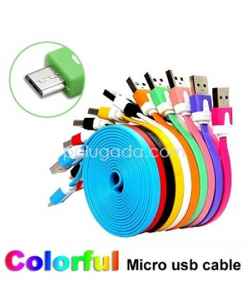 Kabel Data Micro USB Style Noodle