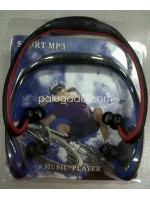 Sport MP3 Earphone - Neckband Slot Micro SD