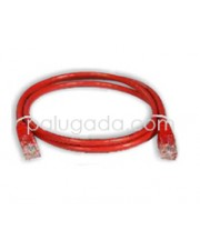 Netviel NVL-PC-PVC-5E-01 Cat5e Patch Cord UTP PVC 1m Red
