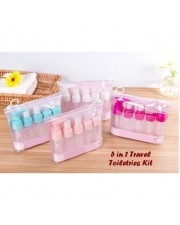 5 in 1 Travel Toiletries Kit - Botol Kecil 5 Pcs