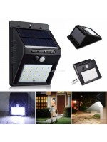 Lampu Dinding Tenaga Matahari 30 LED Solar Wall Light PIR CDS Sensor