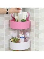 Rak Holder Segitiga Kamar Mandi - Bathroom Triangle Shelving