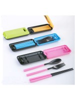 Box of Cutlery - Sendok Garpu Sumpit Portable