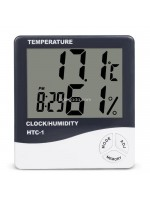 HTC-1 Jam Thermometer Hygrometer Digital Ruangan