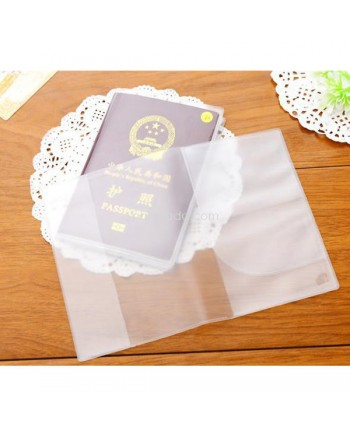 Sampul Passport Transparan - Transparant Passport Cover