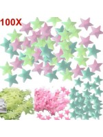 Stiker Bintang Glow In The Dark Star Wall Sticker isi 100 Pcs