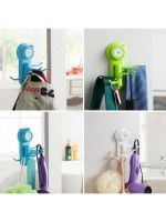 Powerful Suction Cup Hook 6 Holder Gantungan Multifungsi