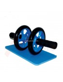 Alat Fitness Abdominal Wheel Double ABS Roller