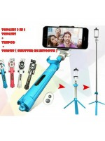 Tongsis 3 In 1 - Tripod Tomsis Bluetooh - Selfie Stick