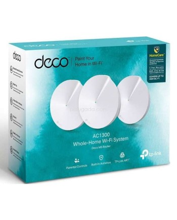 TP-LINK Deco M5 The Most Secure Whole-Home Mesh Wi-Fi System