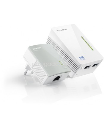TP-Link TL-WPA4220KIT : 300Mbps AV500 WiFi Powerline Extender Starter Kit