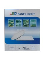 Yopel Lampu LED Panel Bulat Putih 12 Watt