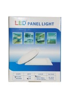 Yopel Lampu LED Panel Bulat Putih 6 Watt