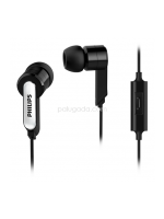 Philips SHE 1405 BK IN EAR PHONE WITH MIC